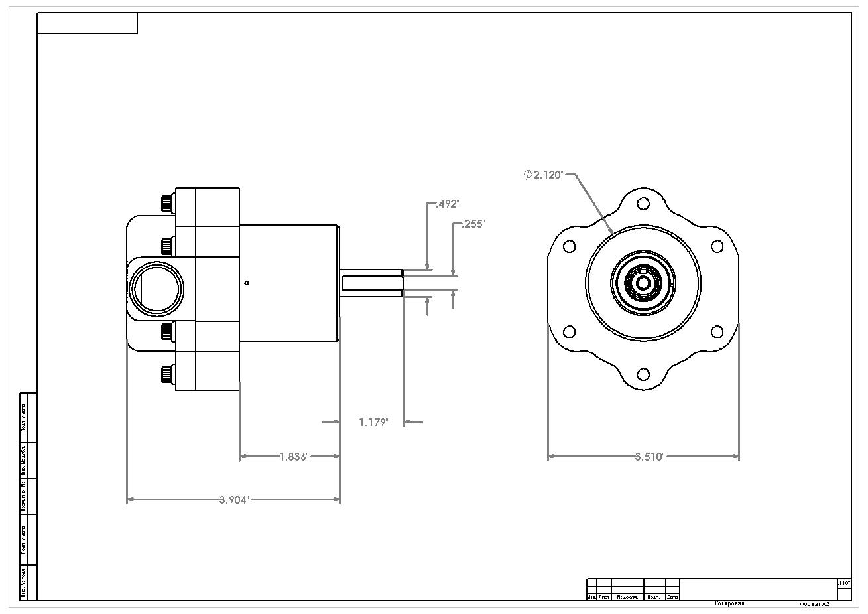 Billet Belt Drive Fuel Pump