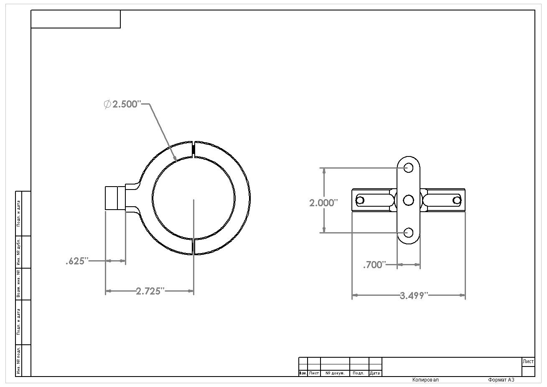 billet 2 5 u201d pump  filter bracket  u2013 aeromotive  inc