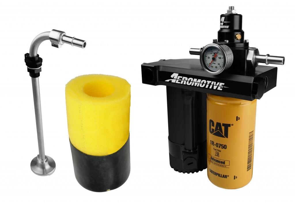 01 10 duramax diesel retrofit kit aeromotive inc. Black Bedroom Furniture Sets. Home Design Ideas
