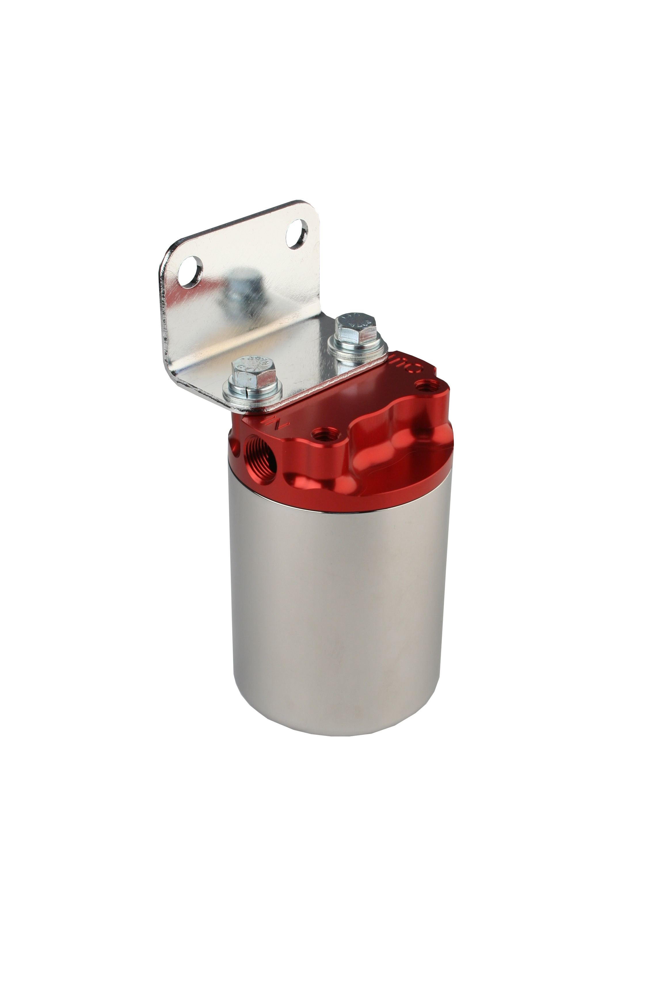 10 Micron Red Polished Canister Fuel Filter Aeromotive Inc Mustang Replacement