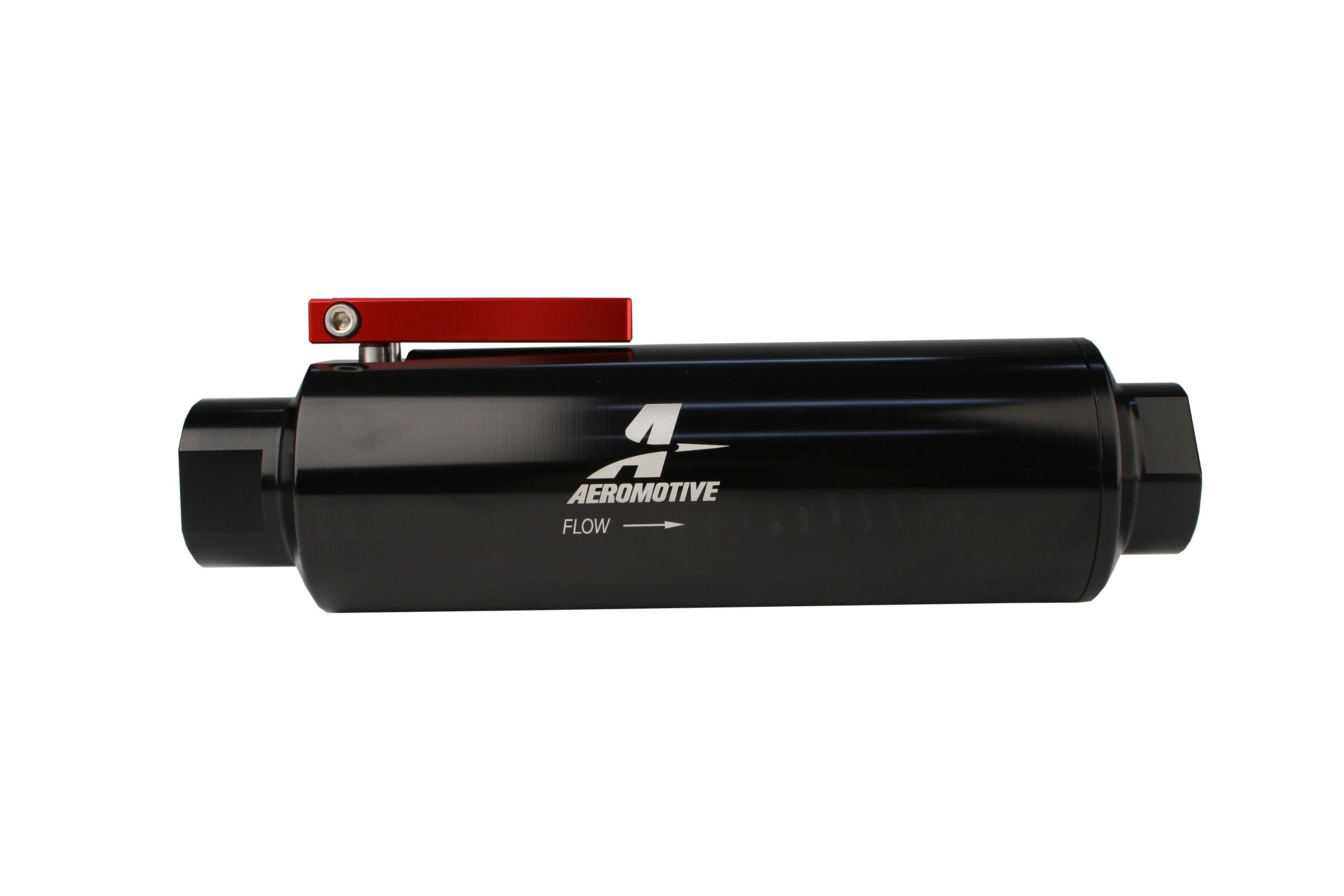 Orb 12 Shutoff Valve Fuel Filter Aeromotive Inc 07 Mustang