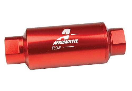 40 Micron, ORB-10 Red Fuel Filter - Aeromotive, IncAeromotive, Inc