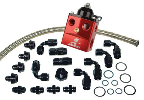 Aeromotive fuel hose and fittings