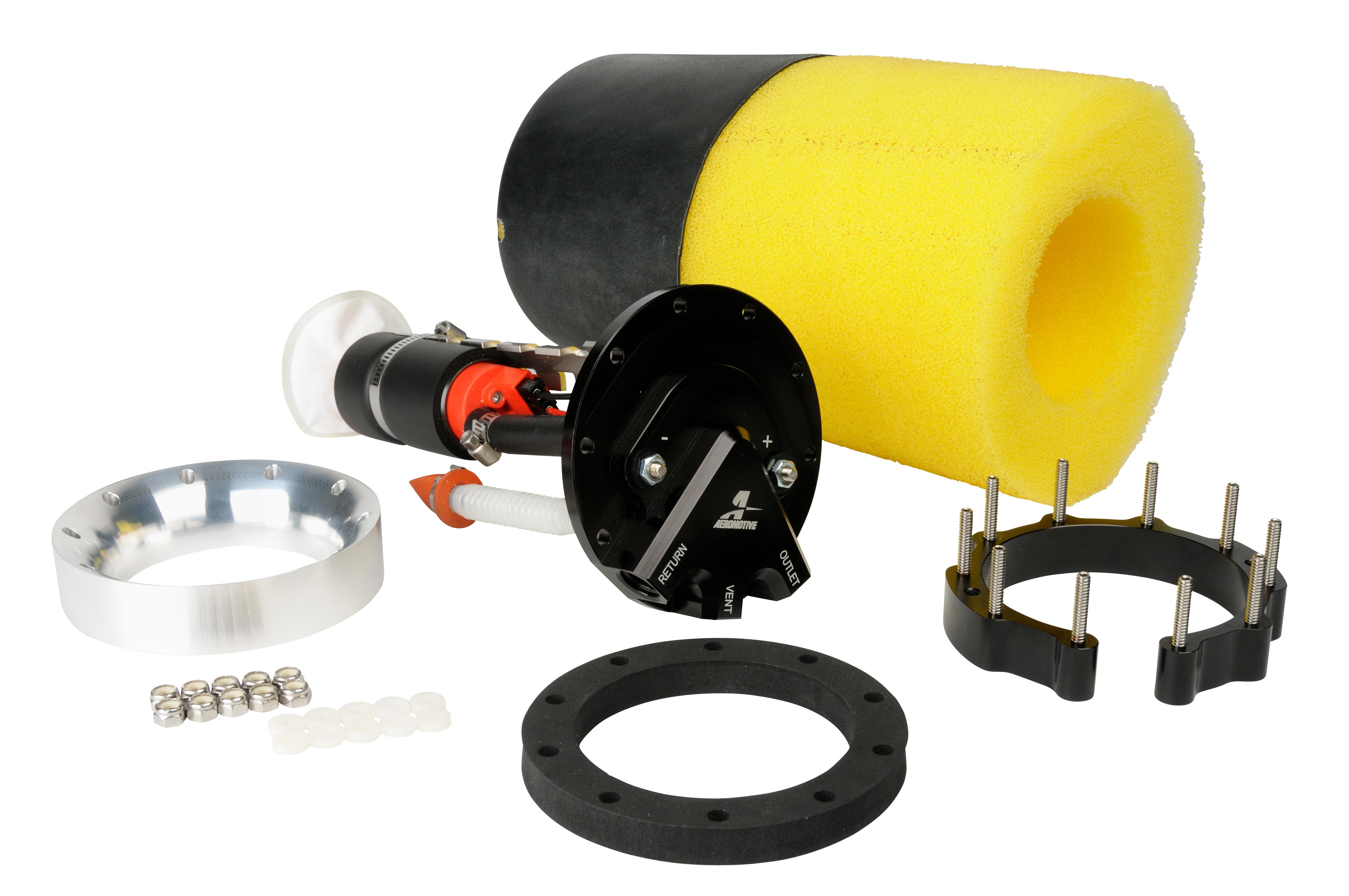 Carbureted Phantom 340 Kit Aeromotive Inc Gas Gauge Fuel Pump Wire Harness