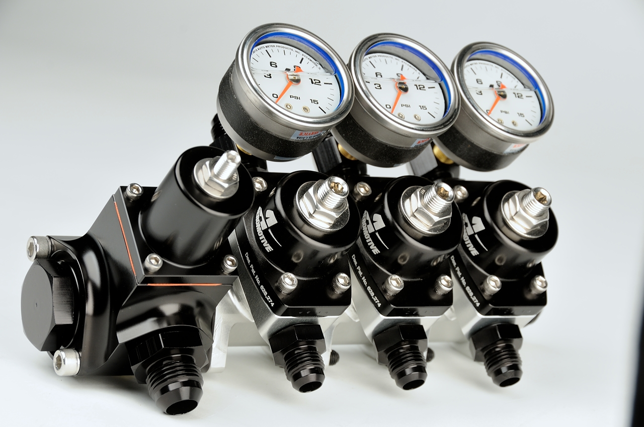 E85 Flex Fuel >> Modular Fuel Pressure Regulator – Aeromotive, Inc