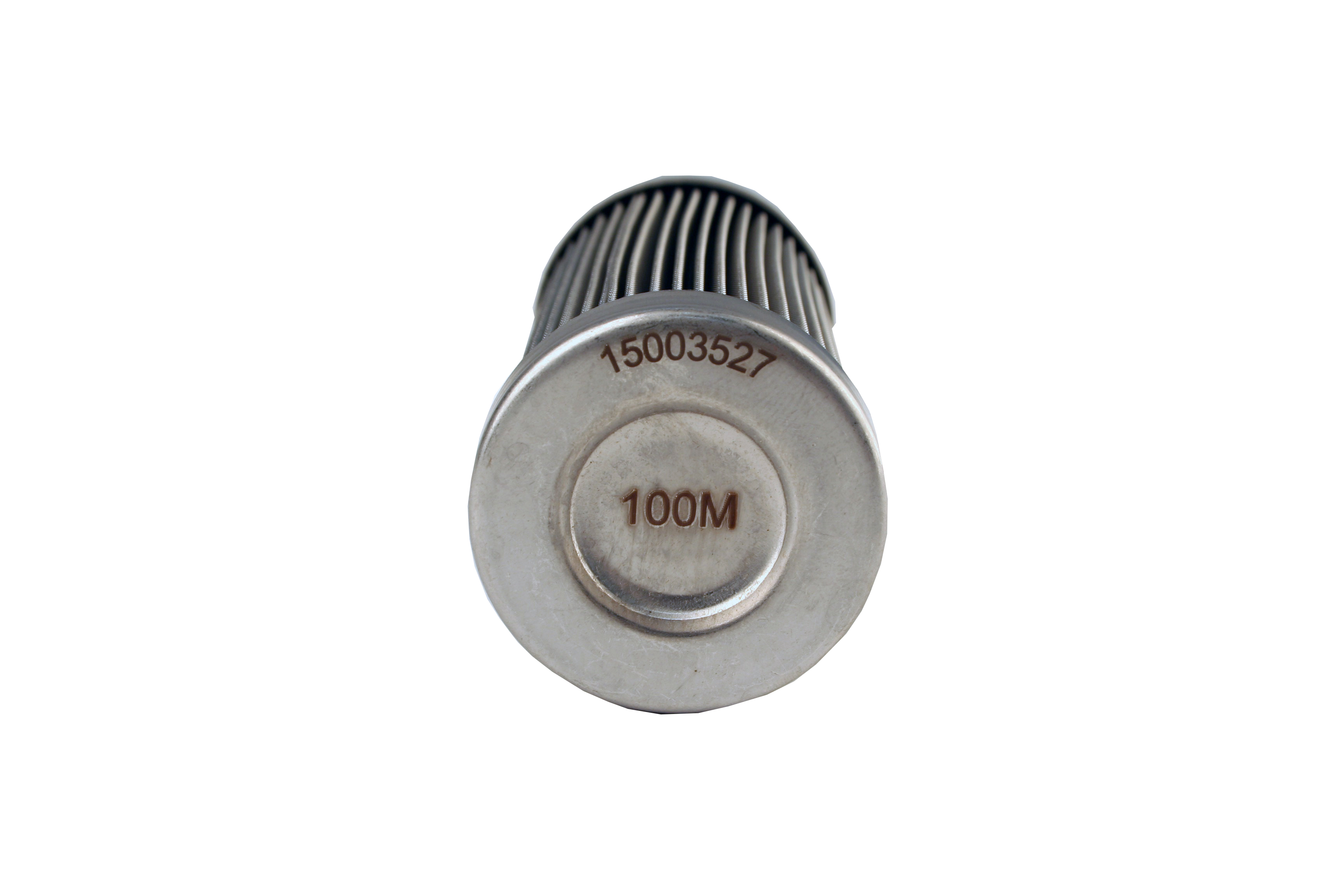 100-micron Stainless Steel Bulkhead Fuel Filter