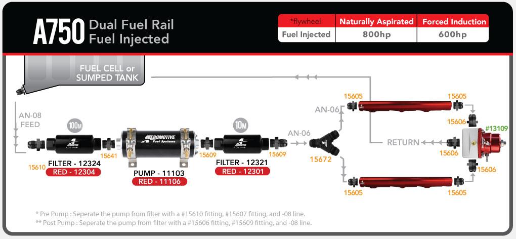 In Line Fuel Pump Diagrams