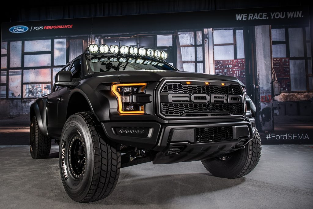 Diesel Brothers Ford Raptor >> Father and Son Team Doug and Brad Deberti of Deberti Designs Sweep SEMA 2016 Awards – Aeromotive ...