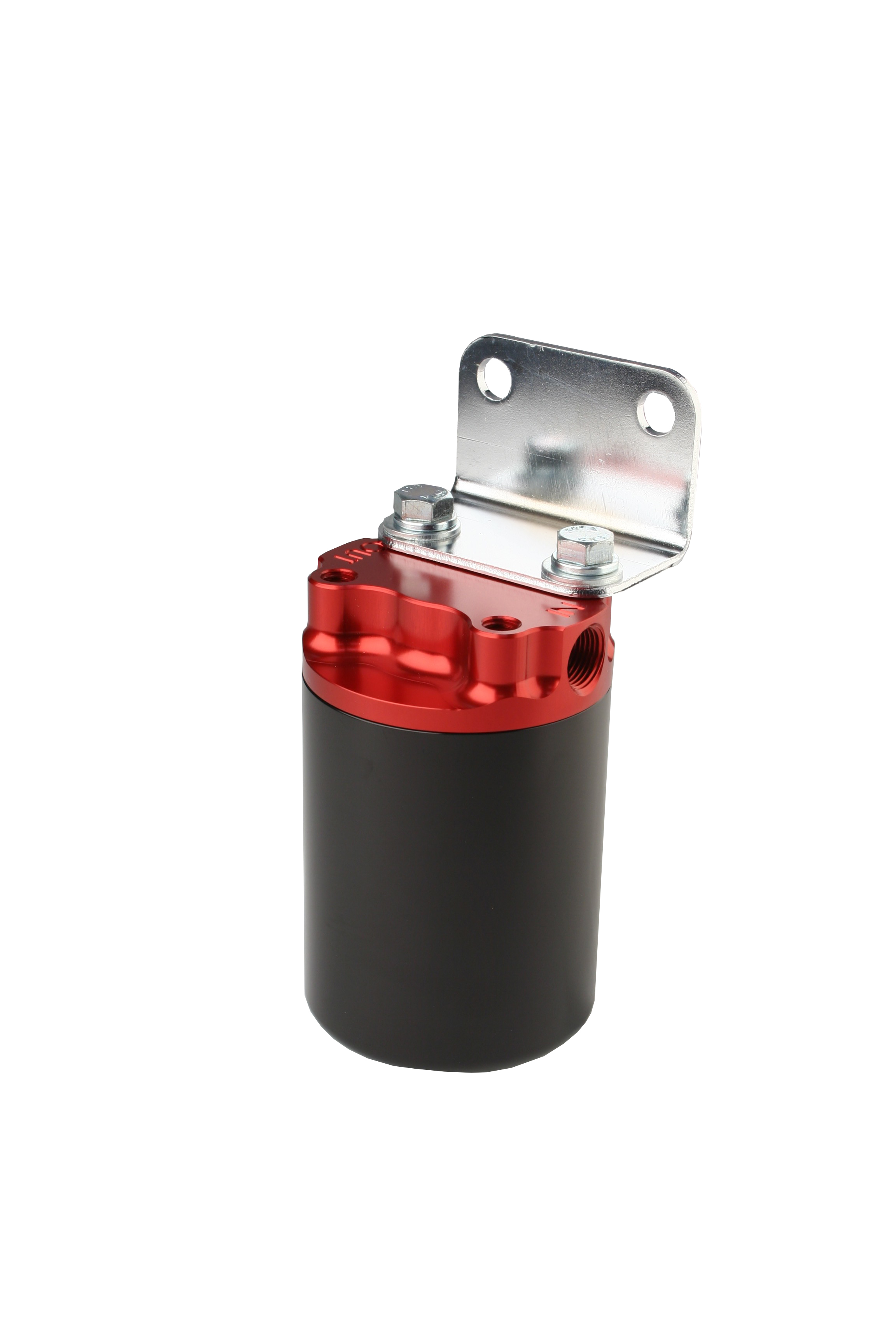 100 Micron Red Black Canister Fuel Filter Aeromotive Inc Replace 2004 Ford Mustang