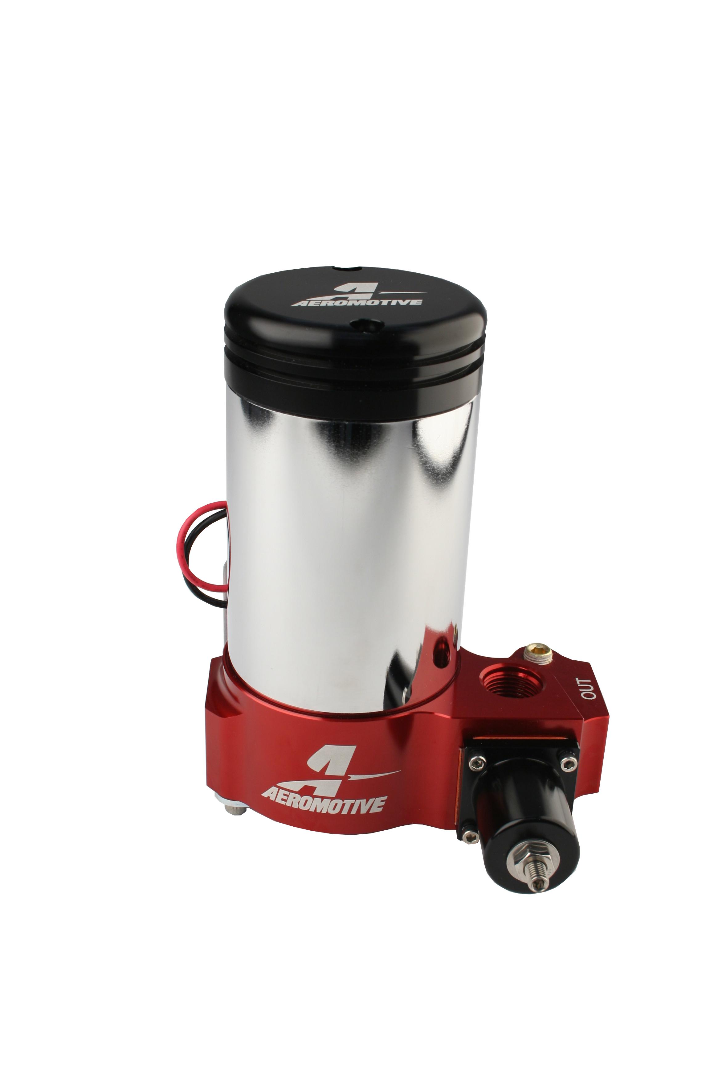 A2000 Carbureted Fuel Pump Aeromotive Inc Electric Installation Instructions