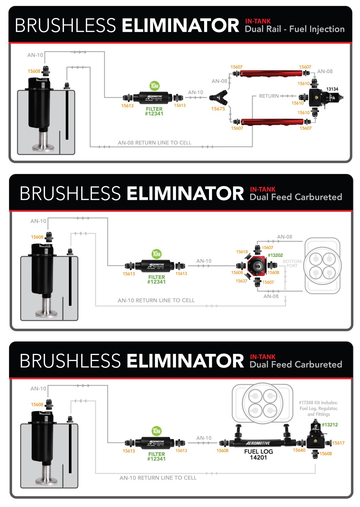 Brushless Fuel Pump Diagrams     Aeromotive  Inc