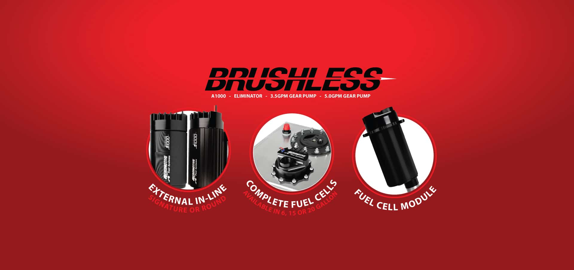 New Brushless Fuel Pump Series
