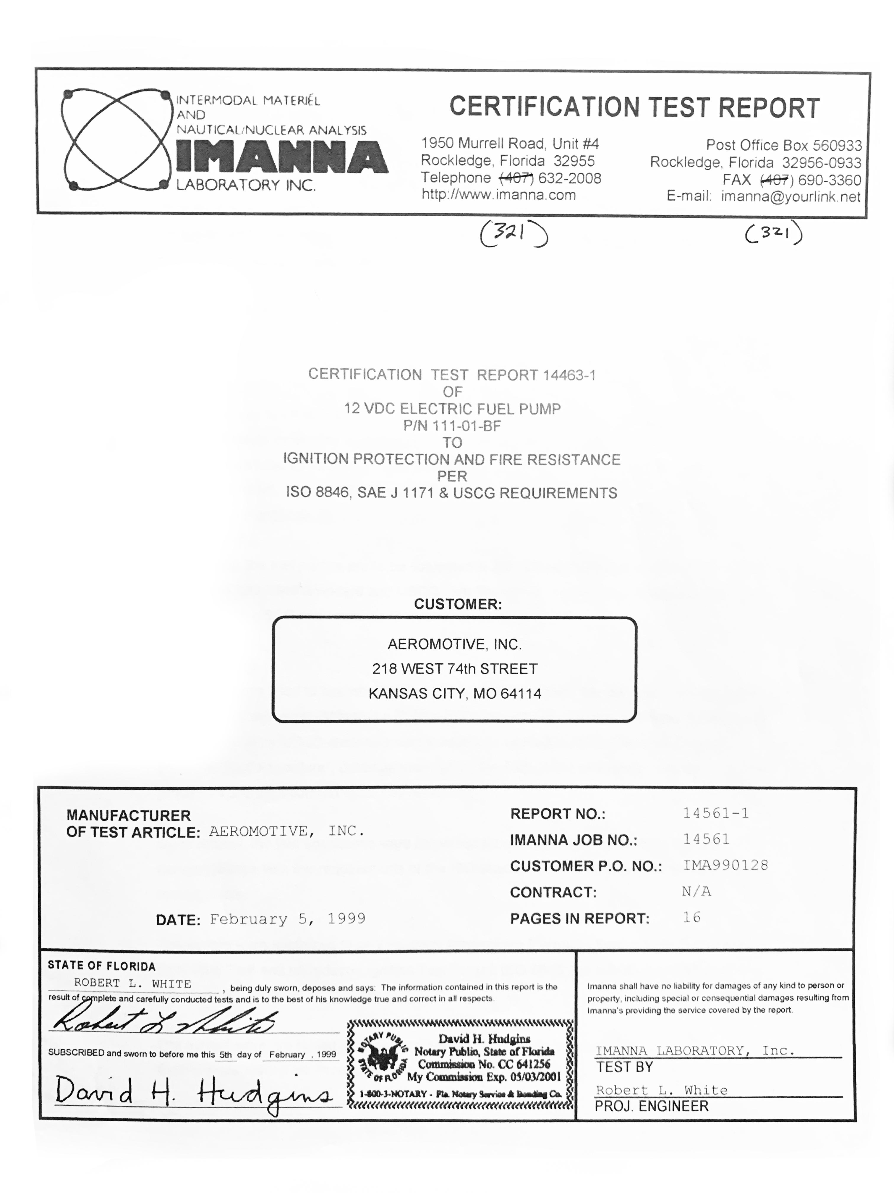 General Information – Aeromotive, Inc
